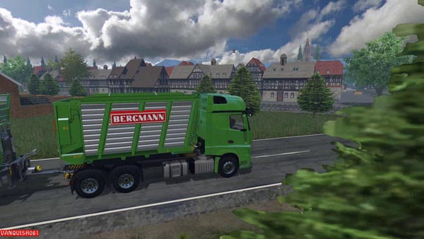 ACTROS 2014 AR TRUCK