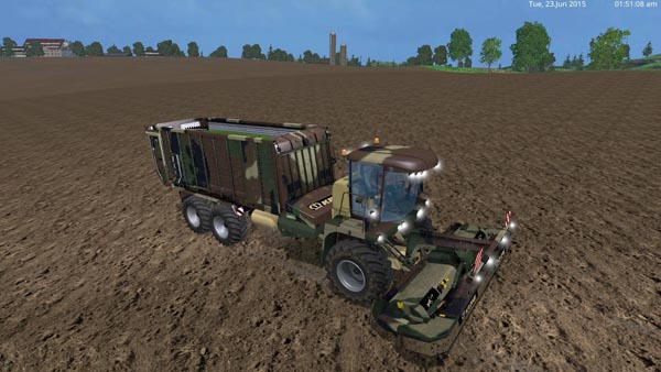 Camouflage krone Big L500 payable