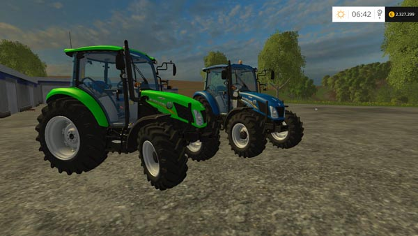 New Holland 115 T4