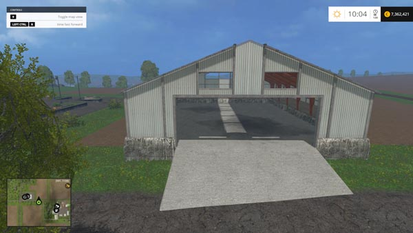 PLACEABLE POLE BARN01 BUILDING