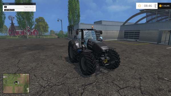 Deutz Fahr 7250 TTV Black Edition Tractor