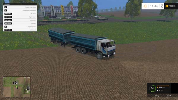 KamAZ 45143 and NEFAZ 8560