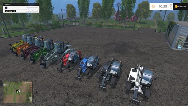 New Holland Loader Pack