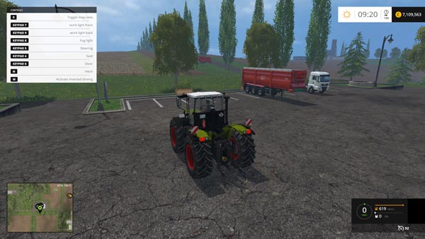 Claas Xerion 3300 TracVC