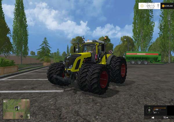 Fendt 936 Vario Yellow Bull