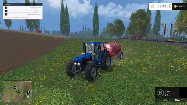 Ford New Holland 8340