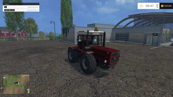 HTZ 17022 Red Tractor