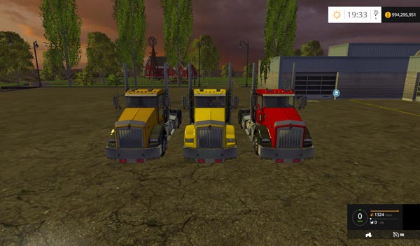 Kenworth T800 Pack