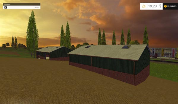 Placeable Sheds pack