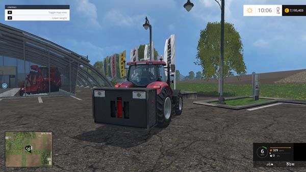 Case IH weight 3000 KG