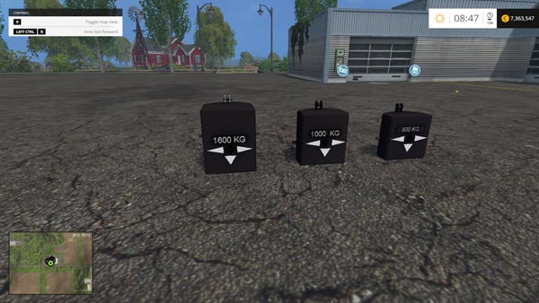 GMC weights Pack