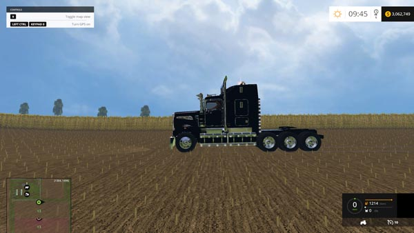 Kenworth T908 Triaxle