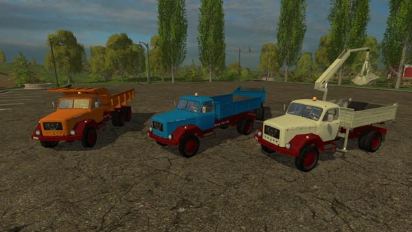 Magirus 200D26 tipper Pack 1964