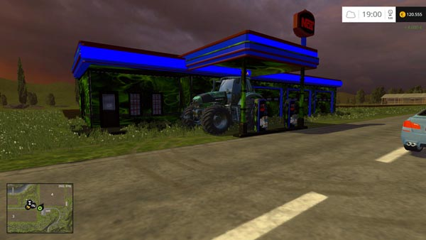 NOS Hardcore gas station