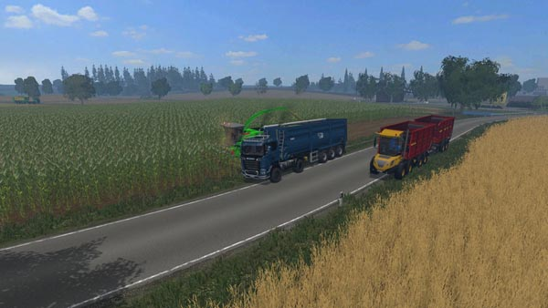 Scania R 730 Streamline Agro Truck v 1.0 colorchoice