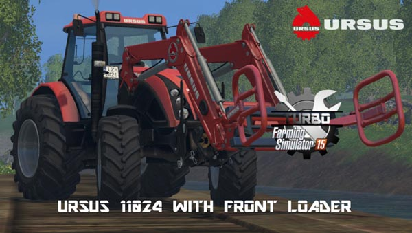 URSUS11024 with front loader