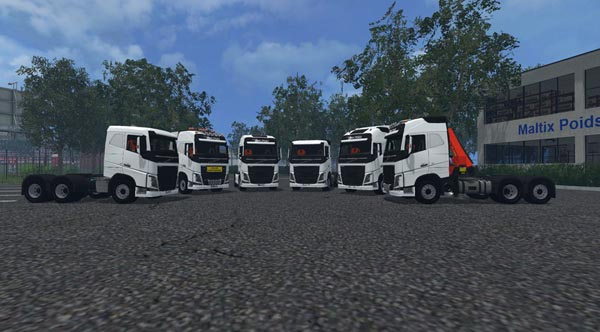 Volvo FH 750 Set