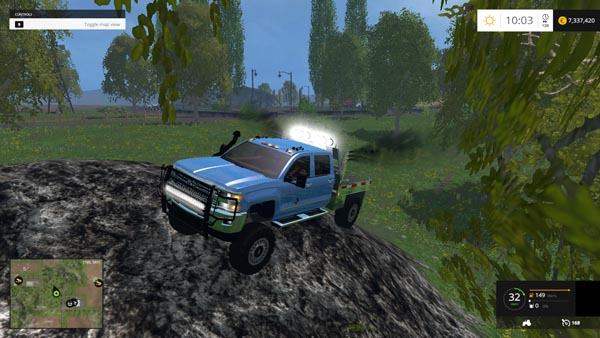 CHEVY SILVERADO 3500HD Z71 OFF ROAD