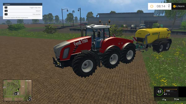 FENDT TRISIX RED EDITION