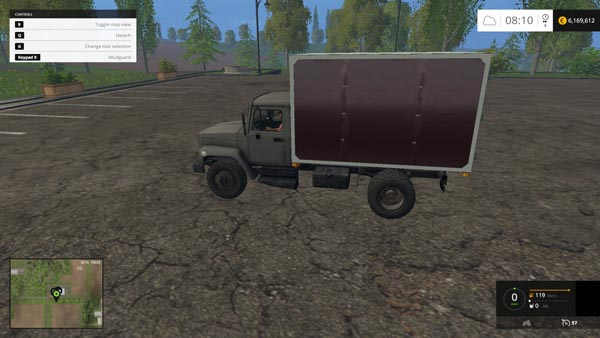 Gaz 3307 gray products