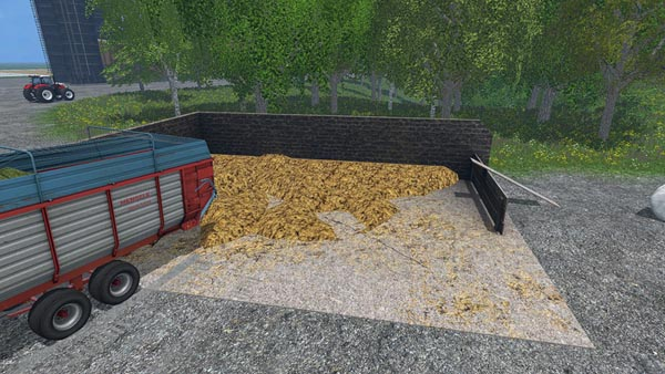 Placeable Manure Heap