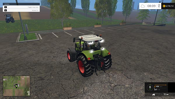CLAAS AXION 830 CEBIS