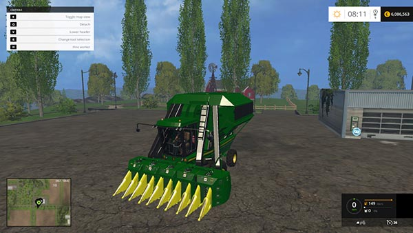 Cotton Picker JD9550