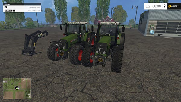 Fendt 818FL and 820 Vario TMS