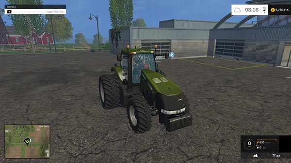 Forest Green Case IH Magnum 380