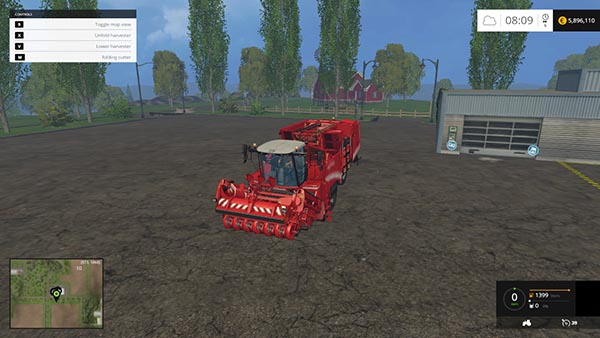 Grimme Maxtron 620 Multifruits