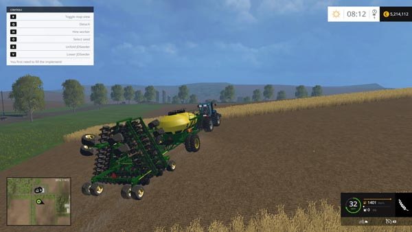 John Deere Air Seeder Pack