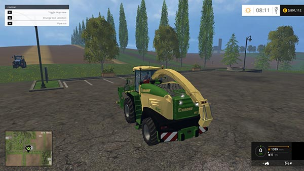 KRONE BIG X 580 FIXED