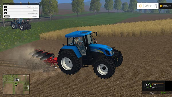 NEW HOLLAND T7550