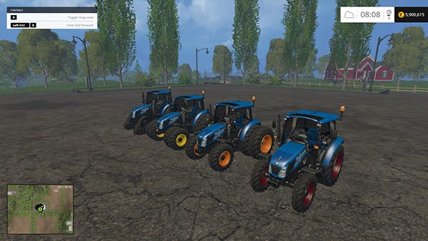 New Holland T475 Pack