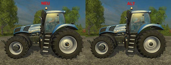 New Holland T8.435 Wheels