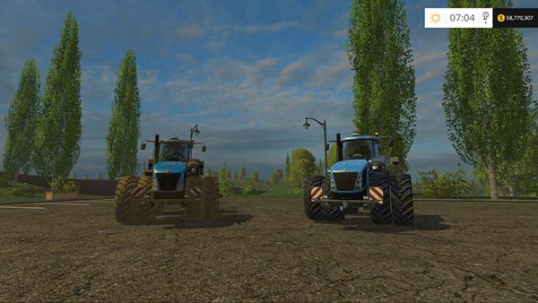 New Holland T9.700 Dual Wheel