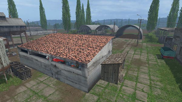 shed for tool storage