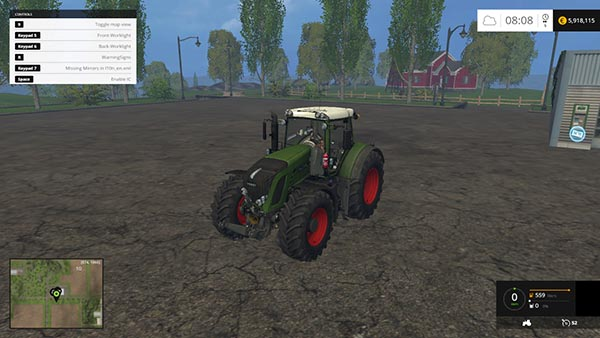 Fendt 936 Vario Washable
