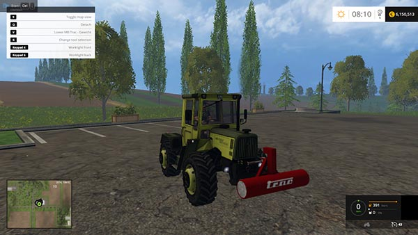 MB Trac weight