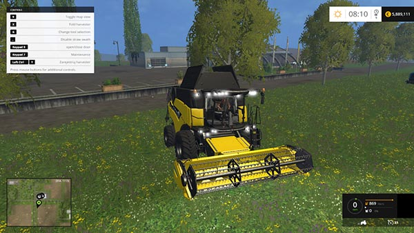 New Holland CR 90.75