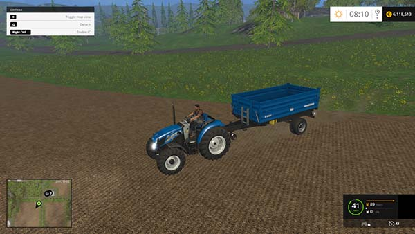 New Holland T4 no roof