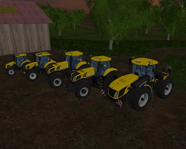 New Holland yellow Set
