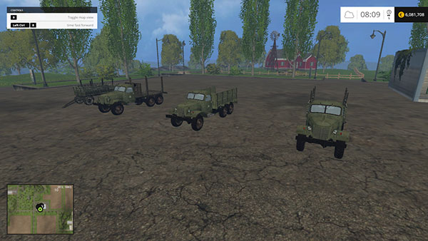 ZIL 157 Forest pack