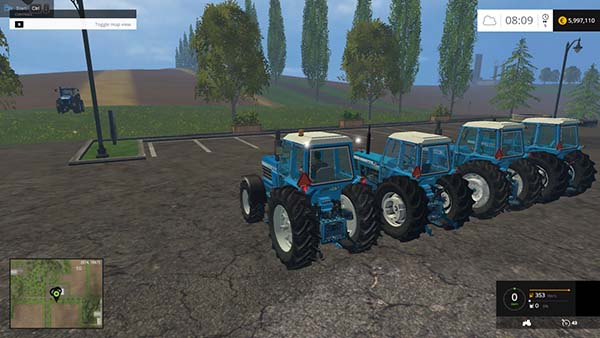 Ford TW Series Pack