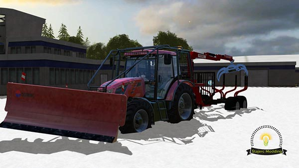 Forestry Trailer Krpan