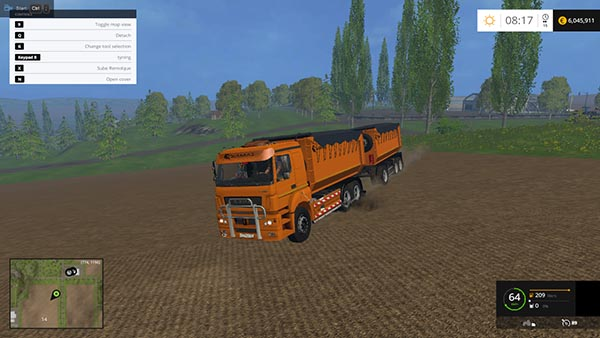 KamAZ 5460 and Trailers Bestlog