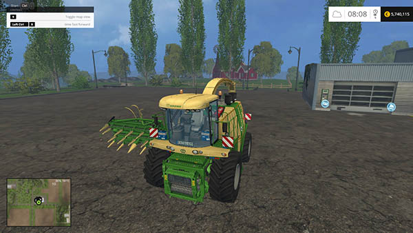 Krone Big X 1100 Mouse controll
