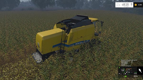 New Holland TC590 with hardpoint