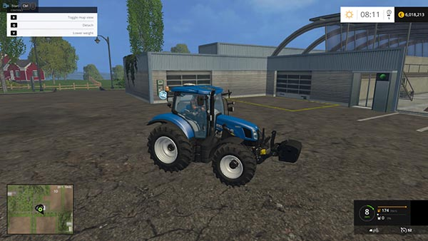 New Holland Weight