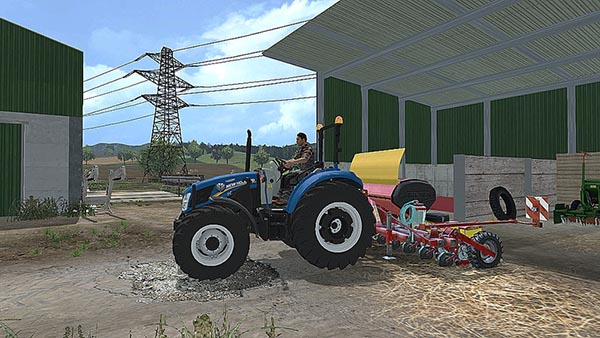 Pack New Holland T4.75 andLM 9.35